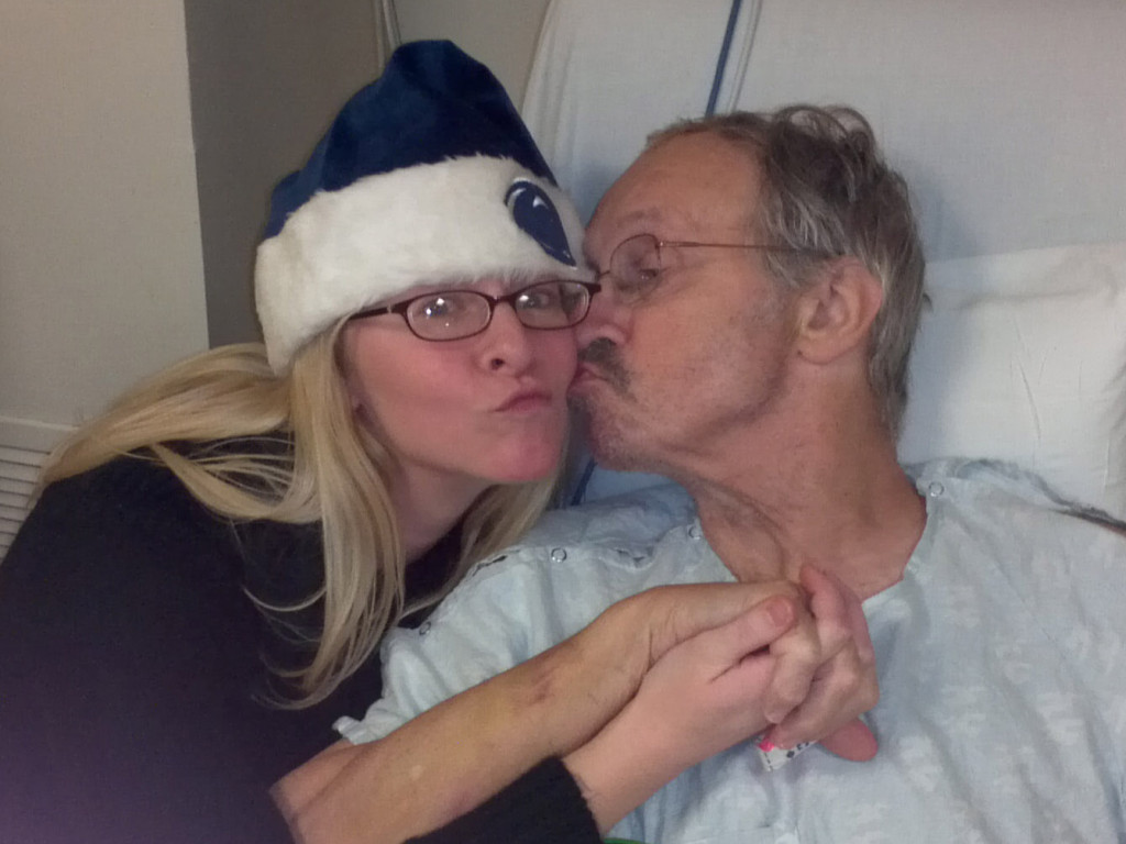 Hospital Bed Kiss